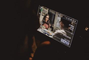 Foto set cortometraggio Bianca