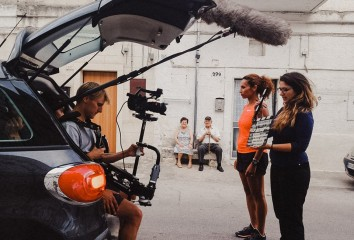 Foto di scena documentario Matera 15/19