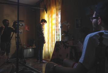 """Set cortometraggio """"Memorie di un Santo in Agosto"""""""