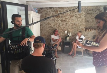 "Set documentario ""Matera 15/19: Episodio II"""